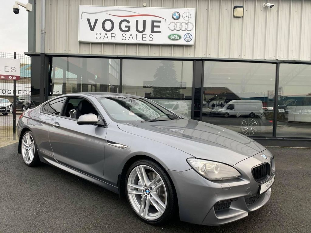2012 BMW 6 Series 3.0 640D M SPORT Diesel Automatic  – Vogue Car Sales Derry City