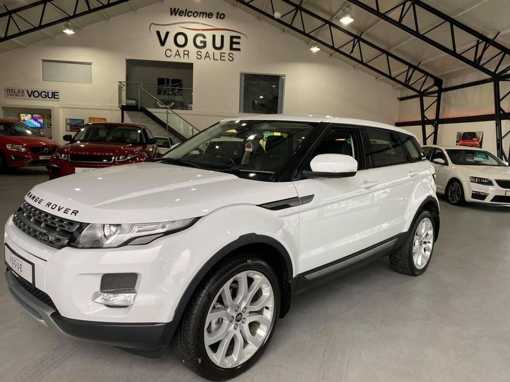 2012 Land Rover Range Rover Evoque 2.2 TD4 PURE Diesel Manual  – Vogue Car Sales Derry City
