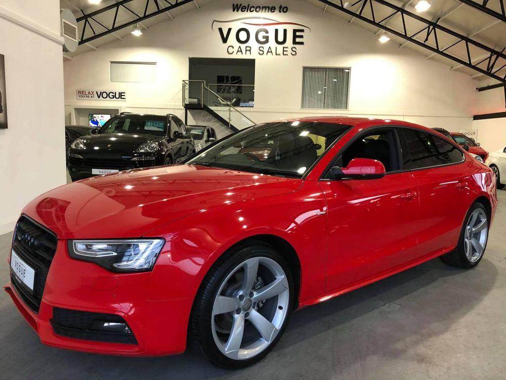 2013 Audi A5 2.0 SPORTBACK TDI QUATTRO BLACK ED S/S Diesel Manual  – Vogue Car Sales Derry City
