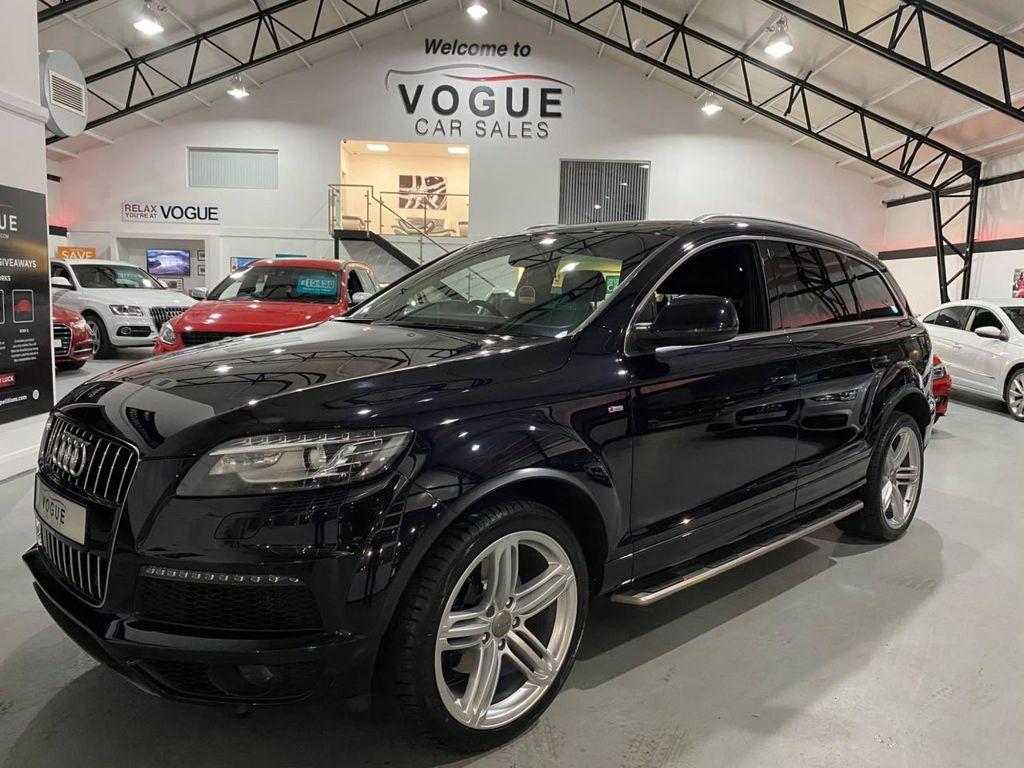 2013 Audi Q7 3.0 TDI QUATTRO S LINE PLUS Diesel Automatic  – Vogue Car Sales Derry City