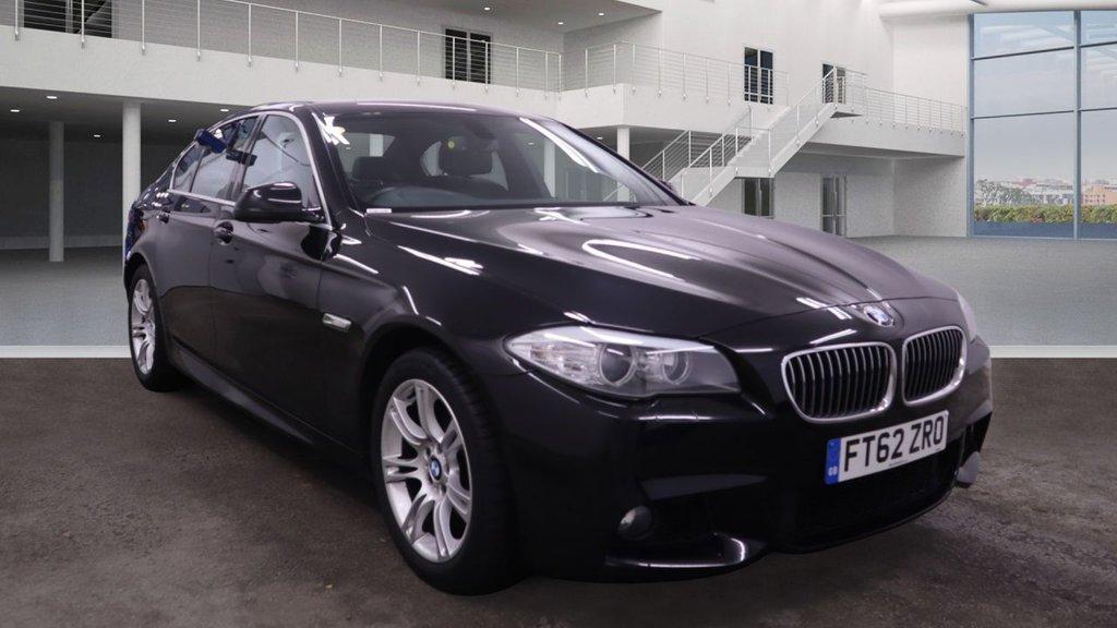 2013 BMW 5 Series 2.0 520D M SPORT Diesel Manual  – Vogue Car Sales Derry City