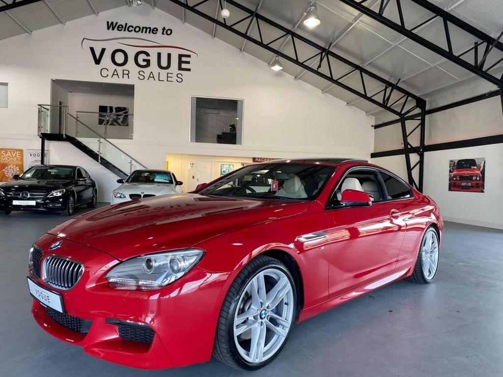 2013 BMW 6 Series P   3.0 640D M SPORT Diesel Automatic  – Vogue Car Sales Derry City
