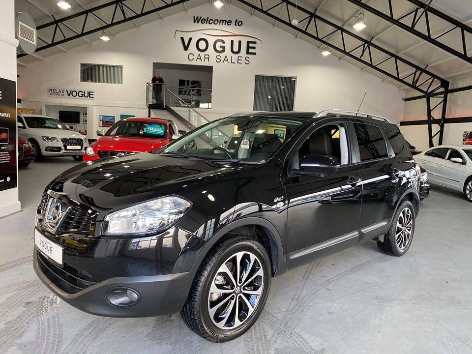 2013 Nissan QASHQAI+2 1.5 PLUS 2 DCI N-TEC PLUS Diesel Manual  – Vogue Car Sales Derry City full