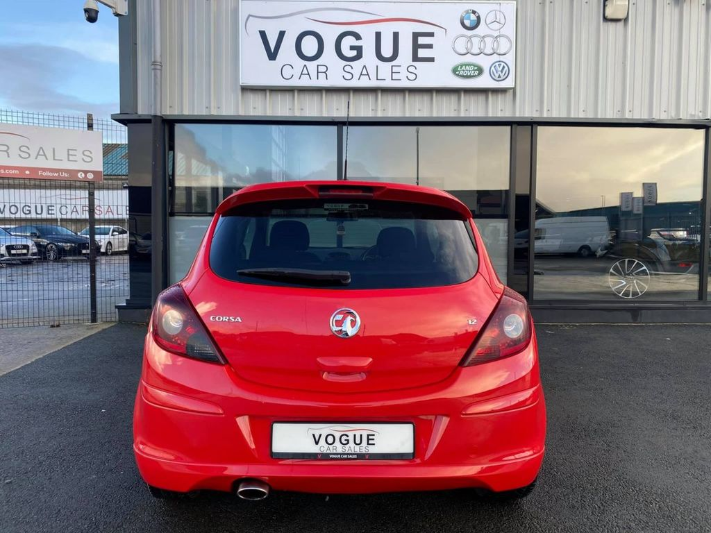 2013 Vauxhall Corsa 1.2 LIMITED EDITION Petrol Manual  – Vogue Car Sales Derry City full