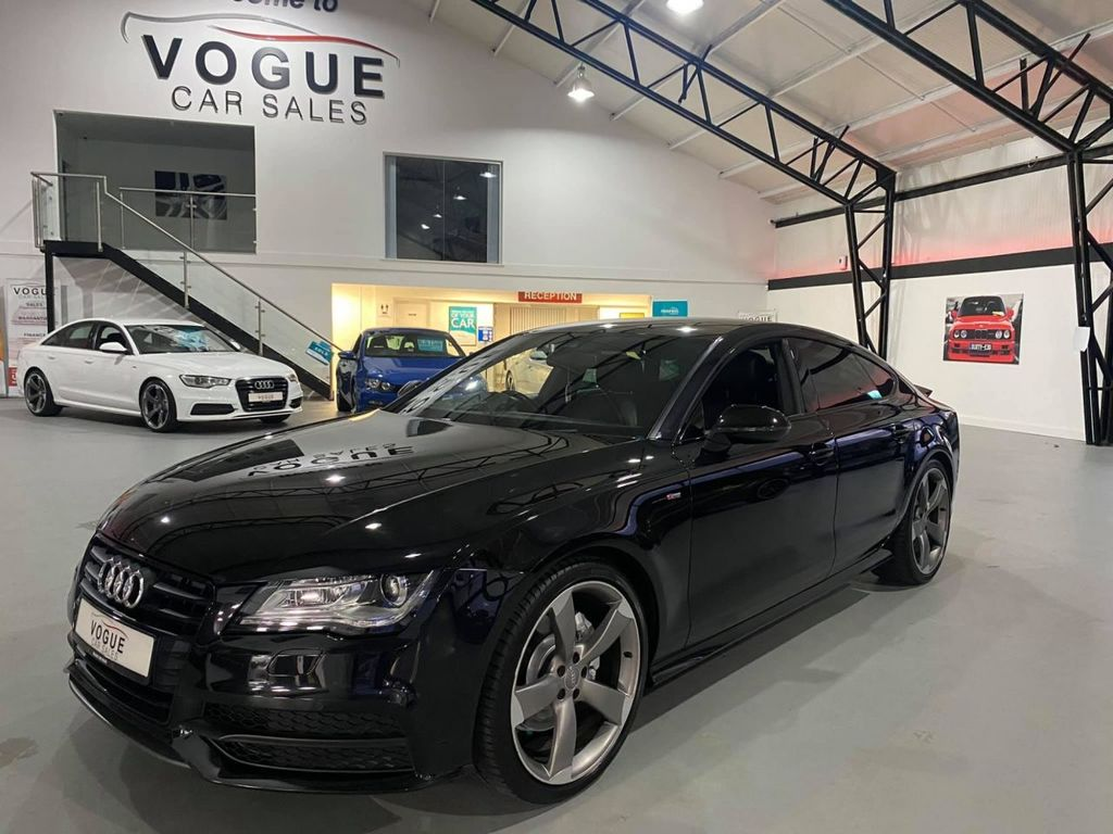 2014 Audi A7 3.0 TDI QUATTRO BLACK EDITION Diesel Semi Auto  – Vogue Car Sales Derry City