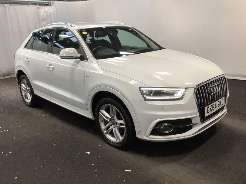 2014 Audi Q3 2.0 TDI QUATTRO S LINE Diesel Manual  – Vogue Car Sales Derry City