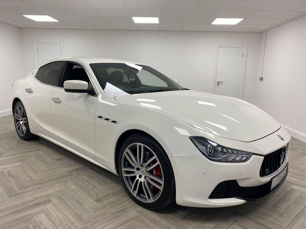 2014 Maserati Ghibli 3.0 DV6 Diesel Automatic  – Vogue Car Sales Derry City