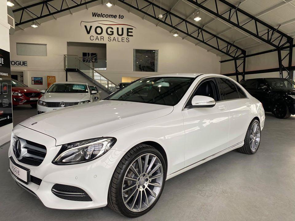 2014 Mercedes-Benz C Class C-CLASS 2.1 C250 BLUETEC SPORT Diesel Automatic  – Vogue Car Sales Derry City