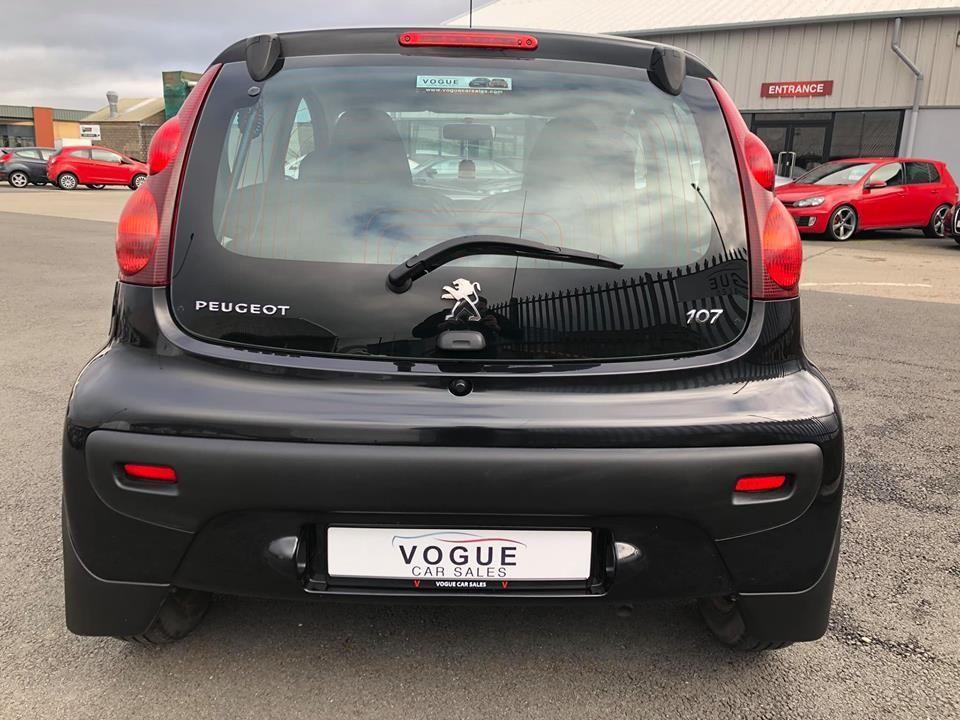 2014 Peugeot 107 1.0 ACTIVE Petrol Manual  – Vogue Car Sales Derry City full
