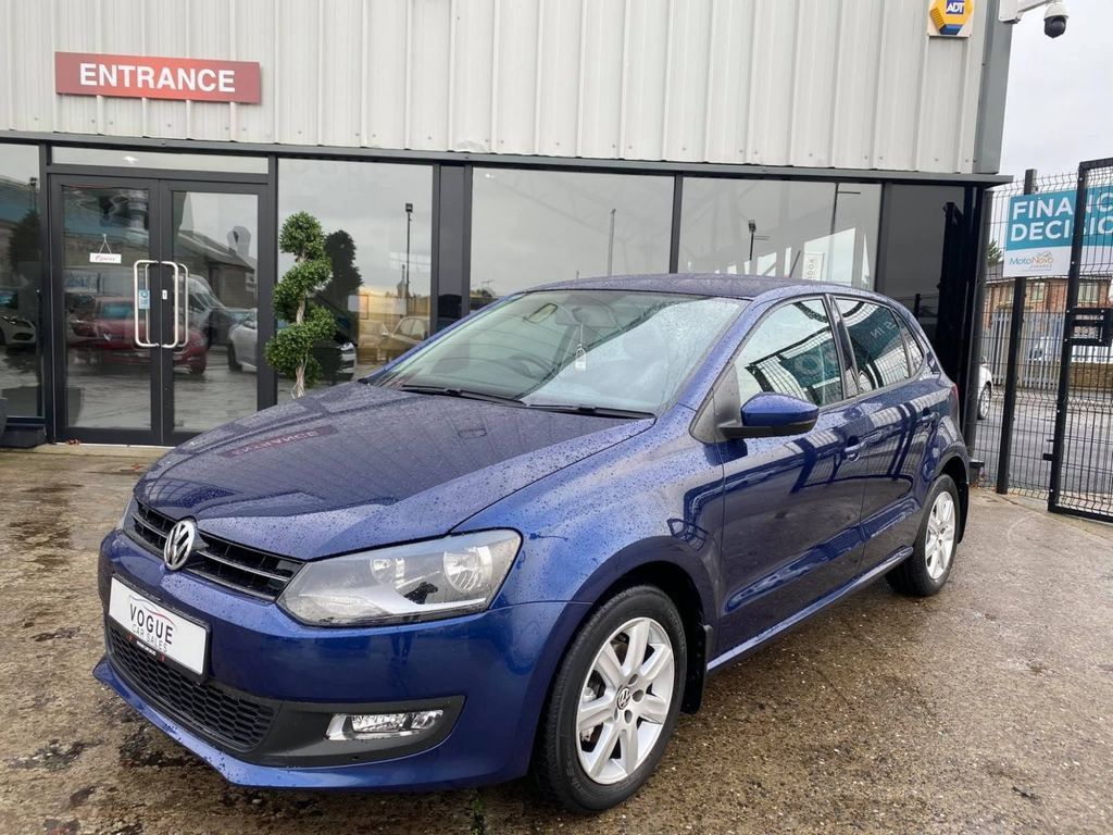 2014 Volkswagen Polo 1.2 MATCH EDITION Petrol Manual  – Vogue Car Sales Derry City