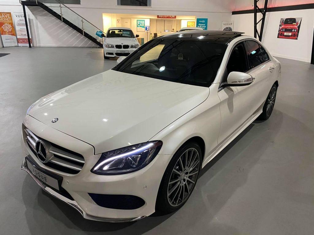 2015 Mercedes-Benz C Class C-CLASS 2.1 C250 BLUETEC AMG LINE PREMIUM Diesel Automatic  – Vogue Car Sales Derry City full