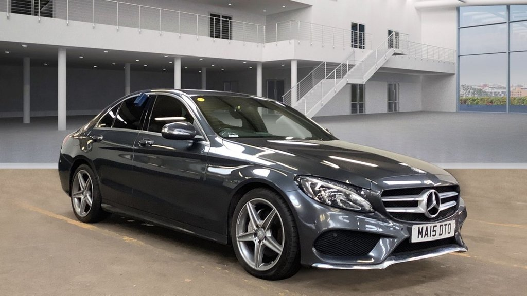 2015 Mercedes-Benz C Class C-CLASS 2.1 C220 BLUETEC AMG LINE Diesel Automatic  – Vogue Car Sales Derry City full