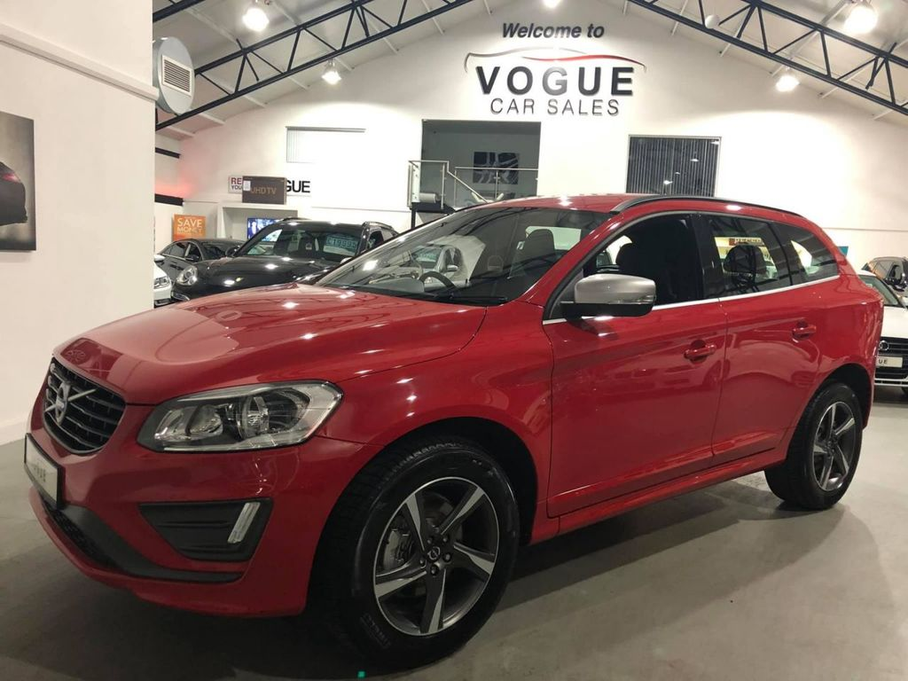 2016 Volvo XC60 2.0 D4 R-DESIGN Diesel Manual  – Vogue Car Sales Derry City