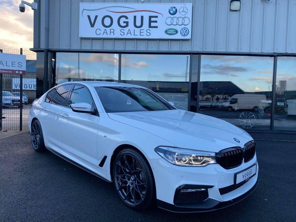 2017 BMW 5 Series 2.0 520D M SPORT Diesel Automatic  – Vogue Car Sales Derry City