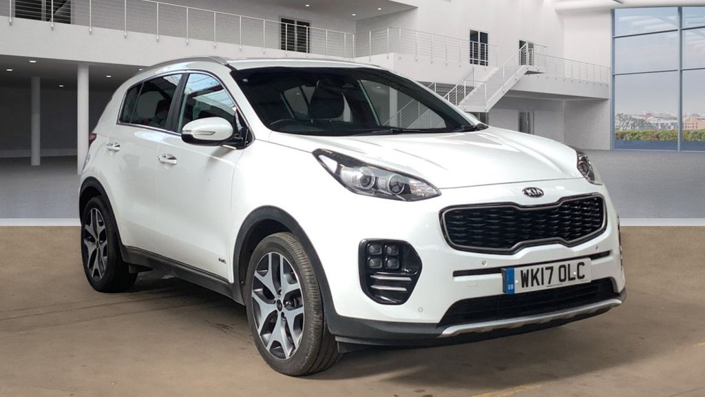 2017 Kia Sportage 2.0 CRDI GT-LINE Diesel Manual  – Vogue Car Sales Derry City